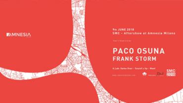 SMC - Aftershow w/ Paco Osuna, Frank Storm