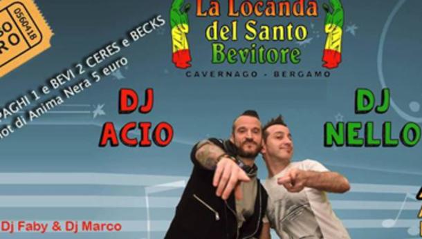 Locanda // Sabato // Afro // Dj Nello + Dj Acio