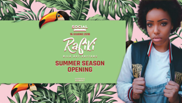 Rafiki Room Social Club / Summer Season