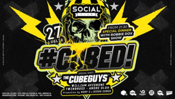 CUBED • Social Club (Brescia)