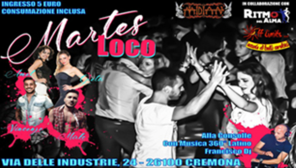 Martes Loco @ Midian live!