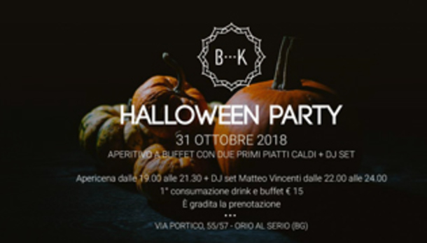 Halloween Party / Apericena e DJ set @ Batik