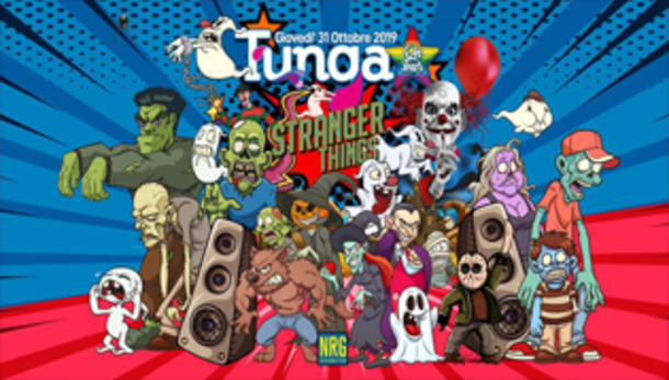 TUNGA Halloween 2019 PartyNRG Cesenatico