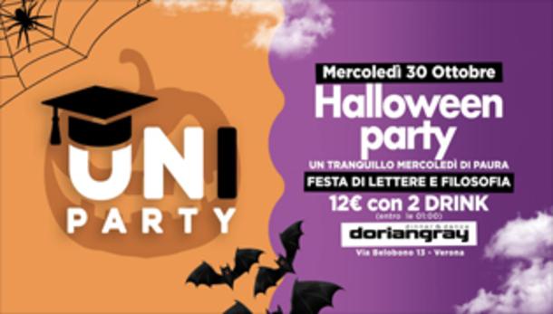 Halloween Party #uniparty @ Dorian Gray Verona