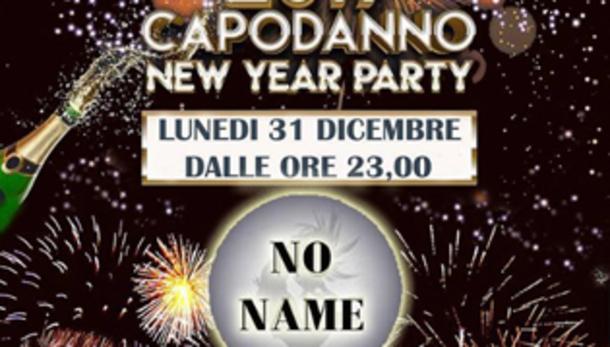 Capodanno al No Name a Cremona!
