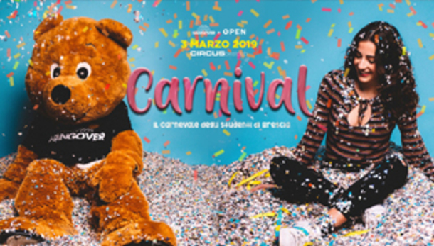 Carnival by Open Staff @ discoteca Circus!