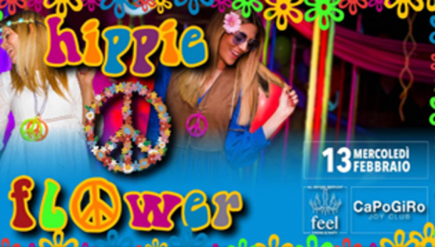 Hippie Flower   Feel Party Restaurant