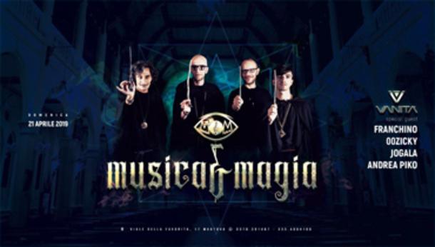 Pasqua Vanità, Metempsicosi Musica & Magia