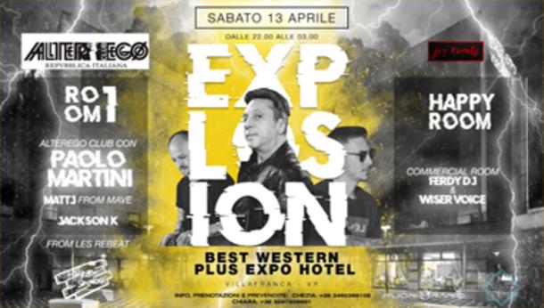 Explosion @AlterEgo__Hotel Expo_Villafranca VR