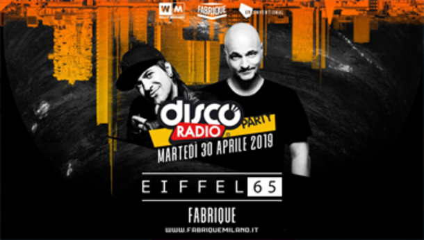 Discoradio Party With Eiffel 65 Fabrique Milano