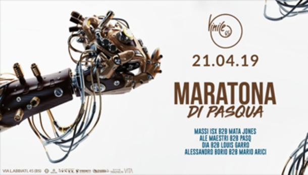 Maratona di Pasqua Vinile 45 a Brescia