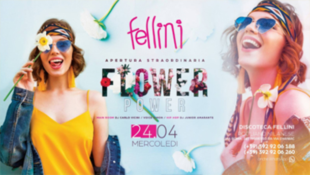 Flower POWER • Fellini Fashion Club