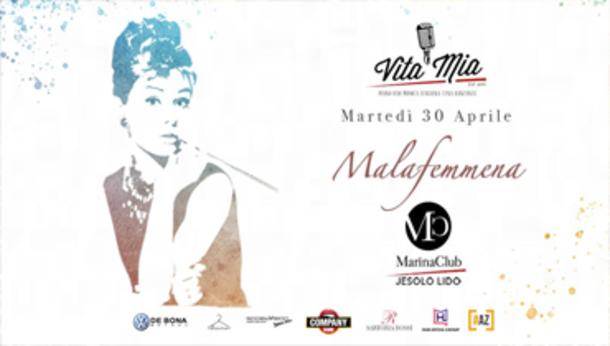 "Vita Mia ""malafemmena"" at Marina Club Jesolo"