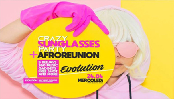 Evolution / Paladina Sunglasses PARTY + AFRO Reunion
