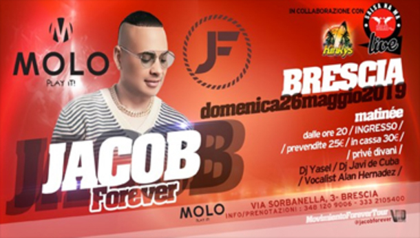 "Jacob Forever - live al ""Molo"""