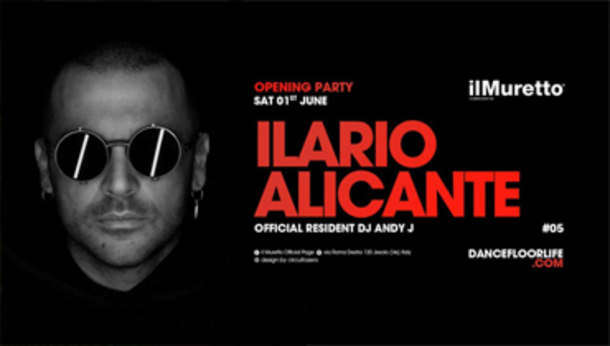 Il Muretto Opening Season w/ Ilario Alicante