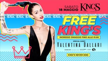 Free King's w/ Valentina Dallari