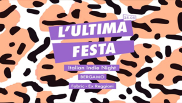 L'Ultima Festa Italian Indie Night Fabric ExReggiani