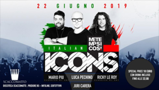 Italian Icons at Discoteca ScaccoMatto