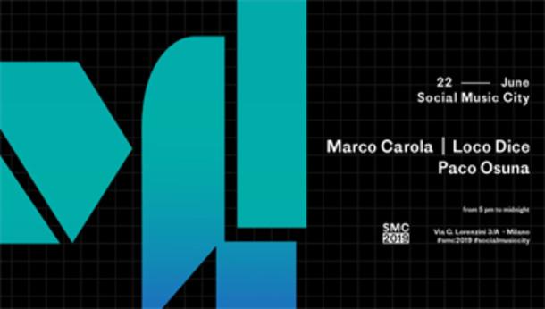 SMC w/ Marco Carola, Loco Dice, Paco Osuna