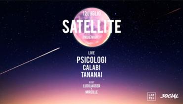 Satellite - Live Psicologi Calabi Tananai + dj set