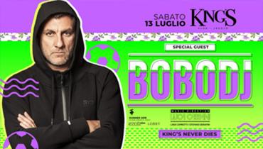 KING'S ospita Bobo Vieri DJ