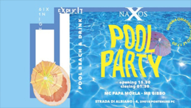 TRUNKREW POOL PARTY w/ EXPLICIT at NAXOS