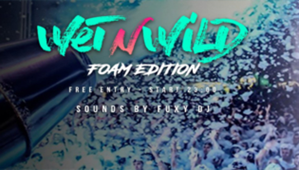 Wet n Wild • Schiuma Party • Il Mercoledì Sound Beach