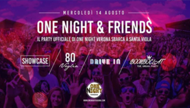 FESTA GRANDE SANTA VIOLA con One Night & Friends