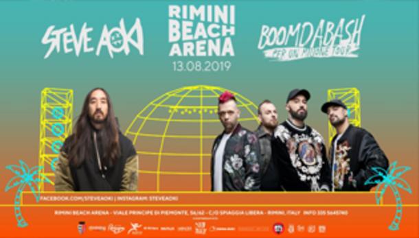 Steve Aoki • Boomdabash - Rimini Beach Arena
