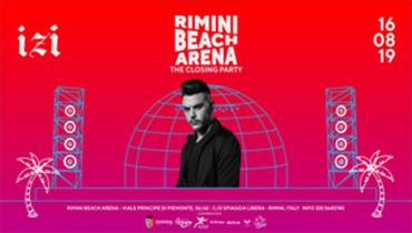 IZI • The Closing Party - Rimini Beach Arena
