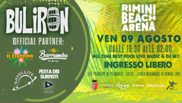 Buliron Rock Party • Rimini Beach Arena