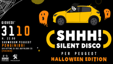 Silent DISCO x Peugeot // Halloween Edition