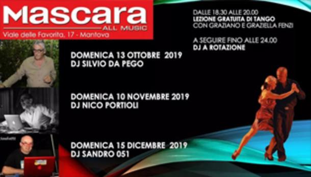 La Diva Tango Dj Silvio + Lezione Fenzi @ Mascara