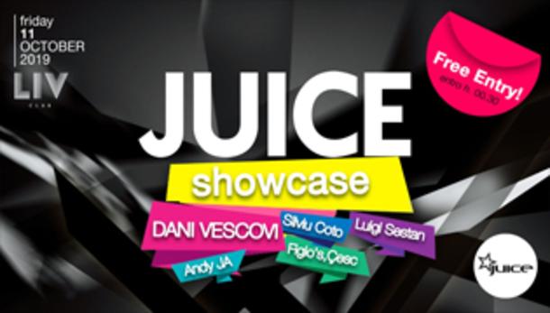 JUICE Showcase #2 - Free Entry!