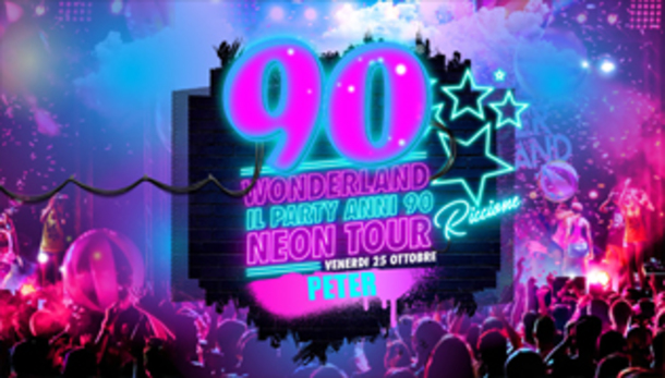90 Wonderland Riccione - Peter Pan Club