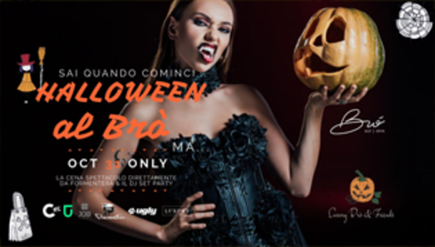 Halloween night 2019 Luxury® BRÓ & Friends