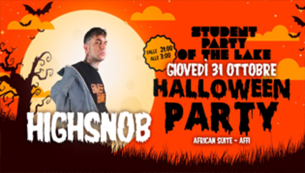 Halloween Student Party of the Lake / Highsnob