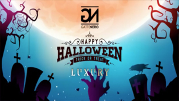 Luxury® Halloween Party | Inaugurazione Gatto Nero