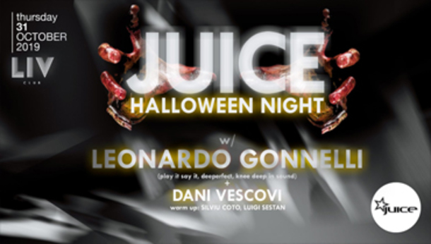 JUICE pres. HALLOWEEN Night w/ Leonardo Gonnelli