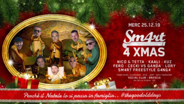 Sm4rt 4 Xmas @ Social Club Brescia