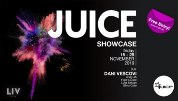 JUICE pres. November Showcase - Free Entry!