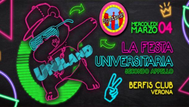 UNILand - La Festa Universitaria - Berfis