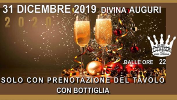 Capodanno 2020 al Divina di Bergamo