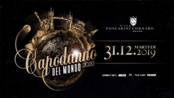 Capodanno del Mondo 2020 Villa Foscarini Cornaro