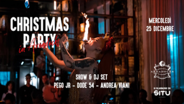 Christmas Party in Areadocks | Show & Dj-Set