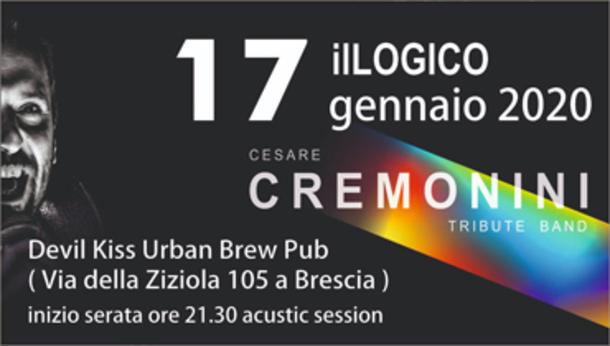 Stanza Acustica | ilLOGICO - Cesare Cremonini Tribute Band