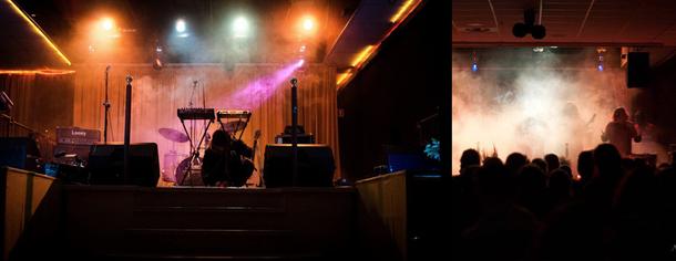 Blocco Music Hall a Verona, Live Bar