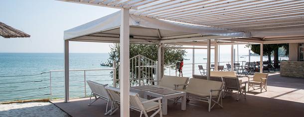 Baia Bianca, lago di Garda