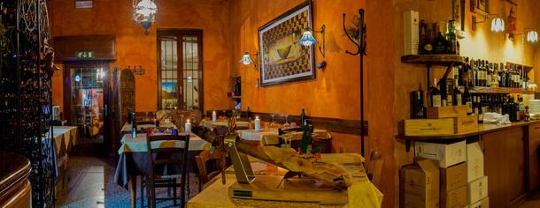 Osteria delle Streghe a Brescia, specialità carne alla brace